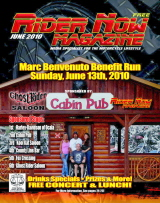 Rider Now Magazine, June 2010 Cover