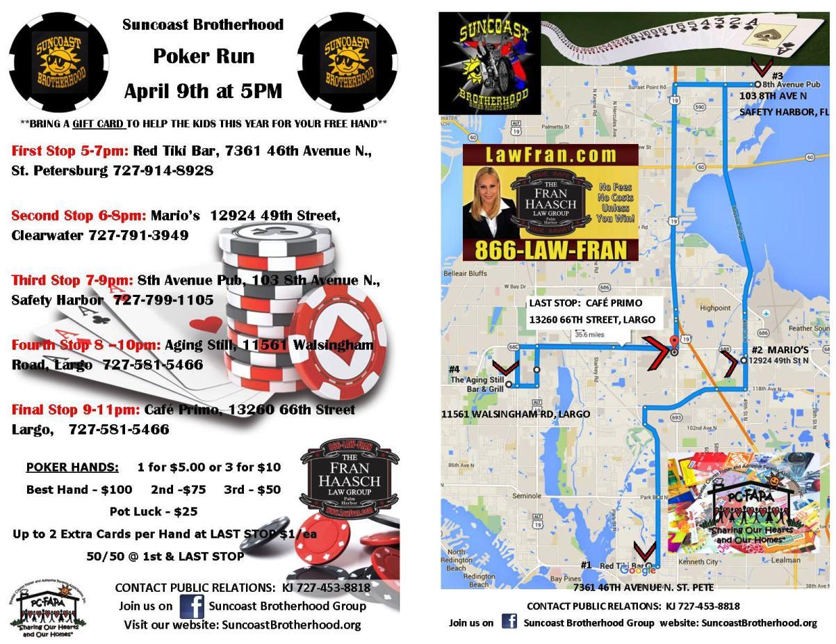 Slick S Scooter Schedule Fl Motorcycle Events Poker Runs
