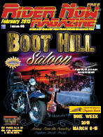 February 2015 Edition, Rider Now Magazine  CLICK HERE