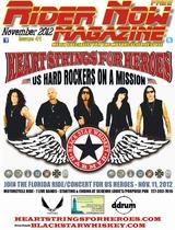 Rider Now Nagazine November 2012 Edition, pgs 1-48.  CLICK HERE